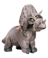 Rubies Jurassic World Triceratops Inflatable Adult Halloween Costume 821065 - £119.14 GBP