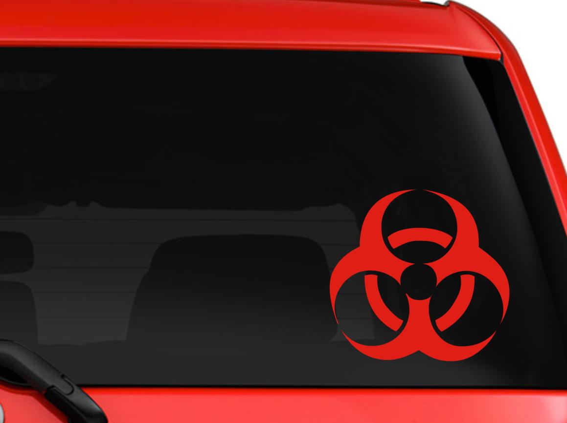 """Hibiscus Flower corner design car truck SUV decal sticker 6/"""" White"""
