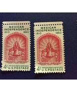 Mexican Independence Postage Stamps no postage  - $4.95