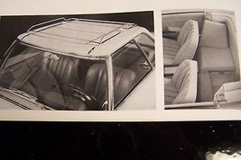 mercedes 230sl pagoda owners sales brochure accesories w113 parts servic... - $72.99