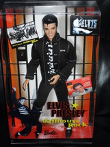 Elvis Presley Jailhouse Rock Barbie Doll New in... - $49.99