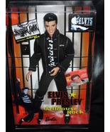 Elvis Presley Jailhouse Rock Barbie Doll New in The Box - $49.99