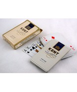 Kent King Size Cigarette Plastic Playing Cards w Box - $5.00
