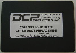 "20GB Fast SSD Replace IC25N020ATDA04-0 with this 2.5"" 44 PIN IDE SSD Solid State image 3"