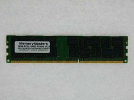 Snpmgy5tc/16g 16GB PC3L-10600R DDR3 1333MHz Memoria Dell PowerEdge T710 Lote 10