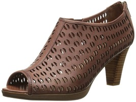 Bella Vita Lake Shooties Women's Shoes Platform Open Toe Pumps - Brown -... - $77.22