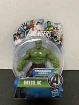 Marvel Avengers Assemble Hulk Action Figure Smashing Hero - $18.70