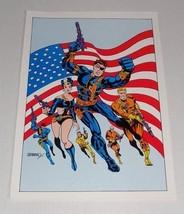1978 Marvel Sgt Nick Fury Agent of Shield Strange Tales 167 poster: Steranko art - $39.59