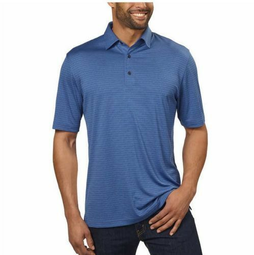 NEW Greg Norman Men's ML75 Luxury Microfiber Short Sleeve Polo