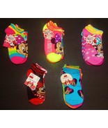 MINNIE MOUSE DISNEY Multi-Pack Low Cut Socks Girls Ages 4-10 (Sock Size ... - $11.87+