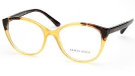 New GIORGIO ARMANI AR7138 5582 Yellow EYEGLASSES FRAME 52-17-140mm B43mm... - $74.24