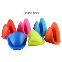 Finger Protective Hand Clip Silicone Microwave Oven Mitts Kitchen Conven... - $7.99
