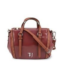 Trussardi Women's Bag, Portulaca Top Handle Shoulder Handbag - Pink / Green - $125.77