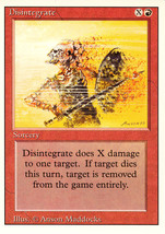 Magic: The Gathering 3rd Edition - Disintegrate - $0.25