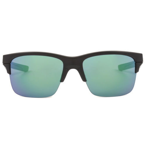 Oakley Thinlink Sunglasses OO9316-09 Matte Black Frame / Jade Iridium Lens