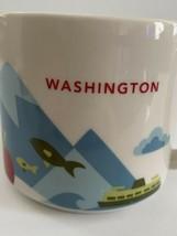 Starbucks Washington You Are Here YAH Series Coffee Tea Mug Cup 2015 14oz - $12.00