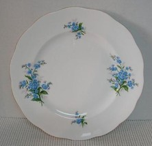 Forget Me Not Royal Albert Dinner Plate (S) Bone China England Euc - $12.36