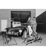 CARROLL SHELBY AND STEVE MCQUEEN SIGNED AUTOGRAPHED 8x10 RP MUSTANG COBR... - $18.99
