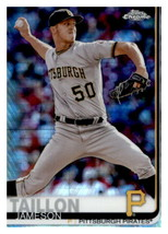 2019 Topps Chrome Prism Refractor #194 Jameson Taillon Pirates - $1.25