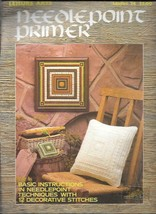 Leisure Arts Leaflet 74 - Needlepoint Primer - Pillow  - $6.92