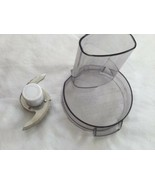 Cuisinart Little Pro Plus Food Processor TX Lid Cover DLC-504TX & Blade ... - $18.69