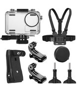 SheIngKa 40M Waterproof Protective Case Shell Backpack Clip Chest Belt S... - $37.13 CAD