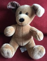 "Sitting 12"" Build a Bear Two-Tone Patches Puppy ""Doggie"" Dog Stuffed Plush - $7.83"