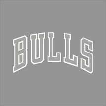 Chicago Bulls #2 NBA Team Logo 1Color Vinyl Decal Sticker Car Window Wall - $5.64+