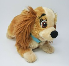 Disney Magasin Exclusif Lady & Le Clochard Coeur Chiot Chien Peluche Animal - $21.61