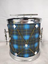 Vintage Plaid Drum Drummer Boy Ice Bucket - $60.00