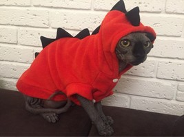 Dog Pet Coat Puppy Cat Costume Clothes Jacket Winter Apparel Hoodie Swea... - $9.99