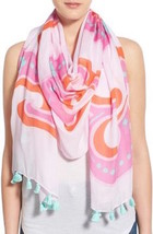 Kate Spade New York Scarf Sweet Oblong Valentine Pink NEW $138 - $116.82