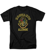 Harry Potter Hogwarts School of Wizardry Logo Alumni T-Shirt NEW UNWORN - $19.34+