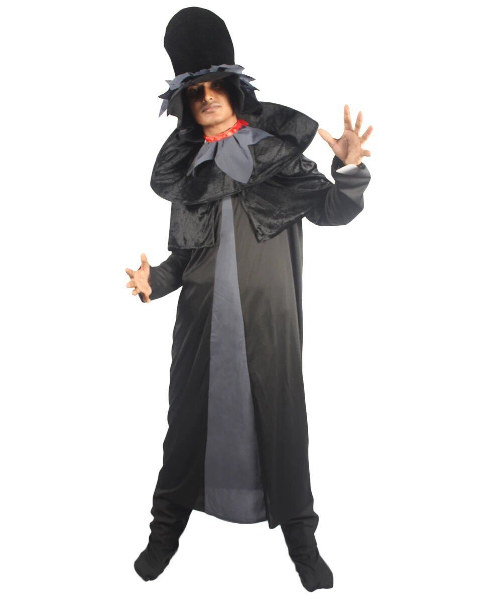 Primary image for Adult Men's Ghost Ghouls Costume | Black Halloween Costume HC-1585