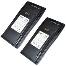 2x HQRP Batteries for Motorola NNTN4496, CP250 CP340 CP360 CP380 EP450 R... - $45.06