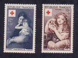 FRANCE 1934 B291-2 RED CROSS  VF LH     054-GL-A1B - $7.92