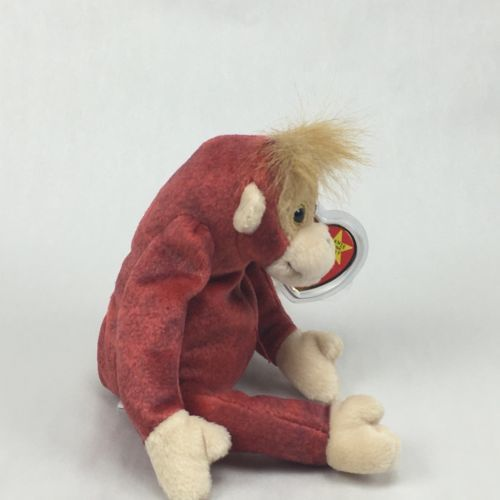 7d574dd7802 TY Beanie Baby - SCHWEETHEART the Monkey (8.5 inch) - MWMTs Stuffed Animal  Toy