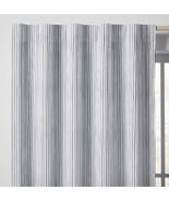 "1 Blackout Irregular Mini Striped Panel Black Pillowfort 63"" New Kids Bl... - £16.35 GBP"