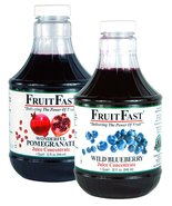 "1 Quart Wild Blueberry & 1 Quart Pomegranate ""Cold Filled"" Juice Concent... - $57.95"