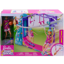 Barbie Team Stacie Extreme Sports ZipLine Skateboard Playset Kid Toy Gif... - $62.36