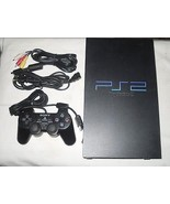 Sony PlayStation 2 Black Console (NTSC) Bundle.....Complete for Playing ... - $149.21