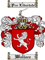 Primary image for Wallace Family Crest / Coat of Arms JPG or PDF Image Download