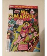 CAPTAIN MARVEL T-SHIRT + MS. MARVEL #1 - MARVEL - FREE SHIPPING - $18.69