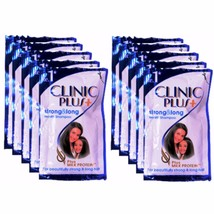 NEW CLINIC PLUS SHAMPOO SMOOTH, STRONG & LONG HAIR 5.5 ml X 48 Sachets - $7.21