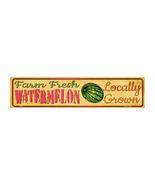 Farm Fresh Watermelon Novelty Mini Street Sign K-693 - $20.99