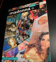 Madonna Greatest Hit So Far Song Book 1999 Eleven Songs International Music - $15.99