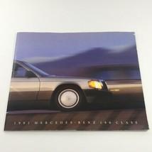 1991 Mercedes-Benz 190-Class Overview Dealership Car Auto Brochure Catalog - $10.65