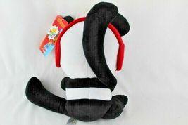 "Ryans World 10"" Plush Panda New With Tags Black White Red Pocket Watch  image 4"