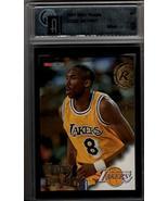 KOBE BRYANT 1996-97 NBA Hoops #281 gai 9 mint - Los Angeles Lakers - Basketball  - $90.25