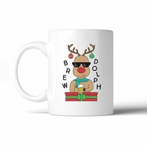 Brewdolph 11 Oz Ceramic Coffee Mug - $14.99